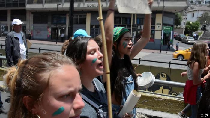 Protestas en Ecuador. (Archivo).