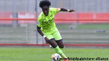 Deutschland Frauenfussball Nicole Anyomi im Spiel Bayer Leverkusen - SGS Essen (Revierfoto/dpa/picture-alliance)