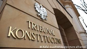 To Συνταγματικό Δικαστήριο στην Πολωνία