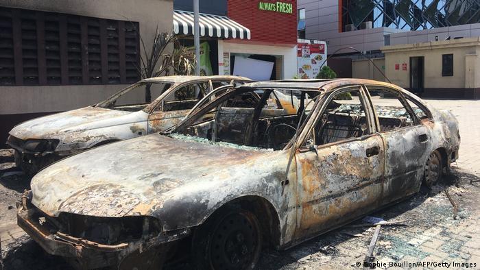 Nigeria Lagos | Ausschreitungen Gewalt