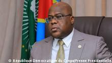 DR Kongo Präsident Félix Tshisekedi
