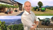 Bildschirmschoner für den Video-Blog Entdecke Deutschland mit Mykhailo Malyi
