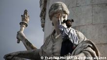 Frankreich Protest nach dem Tod von George Floyd in Paris