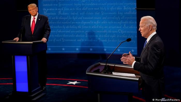 Donald Trump ve Joe Biden secim öncesi katıldıkları bir televizyon programında vaatlerini açıklamışlardı.