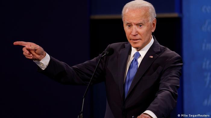 USA I TV-Duell zwischen Donald Trump und Joe Biden