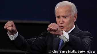 USA | Nashville | Präsidentschaftswahlen TV Debatte Trump Biden (Chip Somodevilla/Getty Images)