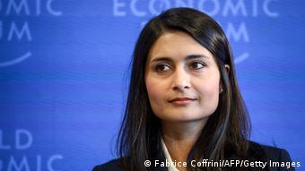 Η γενική διευθύντρια του WEF Σαάντι Ζαχίντι