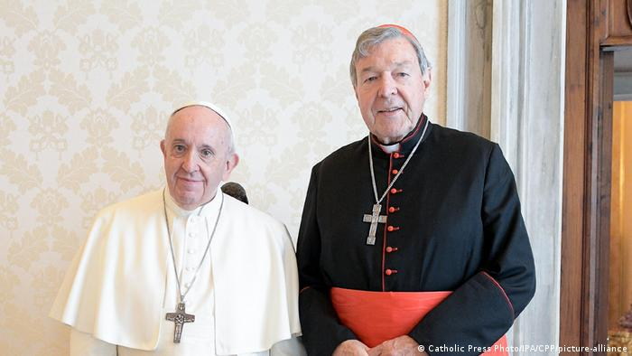 Oct 12,2020: Pope Francis receives in Audience Em.mo Card. George Pell, Prefect Emeritus of the Secretariat for the Economy at the Vatican.