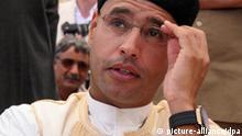 Gaddafi-Sohn dämpft Hoffnungen von IRA-Opfern