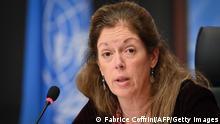 Schweiz Genf | Gespräche zu Waffenstillstand in Libyen - Stephanie Williams