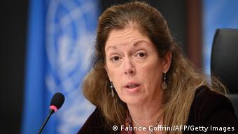 Stephanie Williams, mjumbe mwandamanizi wa Umoja wa Mataifa anayeshugulikia Libya