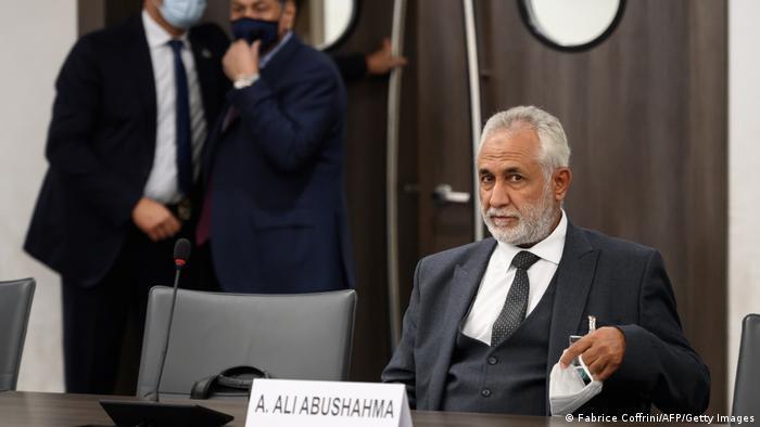 Schweiz Genf | Gespräche zu Waffenstillstand in Libyen - Ahmed Ali Abushahma