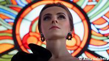 Белорусская оперная певица, актриса, модель Маргарита Левчук