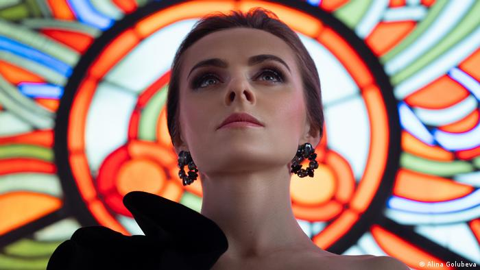 Оперная певица из Беларуси Маргарита Левчук