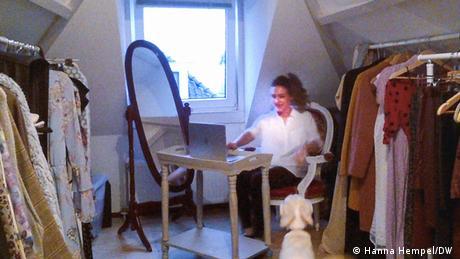 Ena Omerovic I Koordinatorin von MILEN (Hanna Hempel/DW )