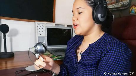 """Gilda Barrientos I Project Manager """"Sónica"""" I ASEC (Hanna Hempel/DW )"""