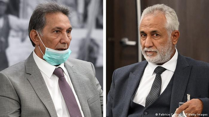 أحمد أبوشحمة وأحمد العمامي، روسای هیات مذاکره طرفین منازعه لیبی در ژنو