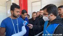 Bosnien Herzegowina I Flüchtlinge aus Bangladesch in Velika Kladusa