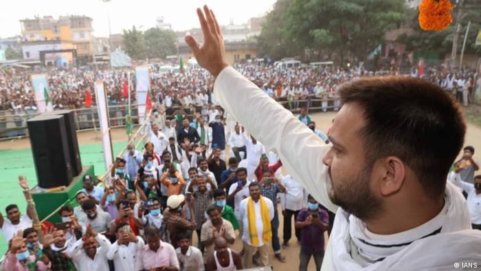 Wahlveranstaltungen in Bihar, Indien 2020 (IANS)