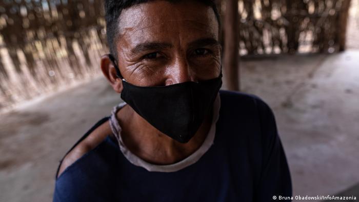 Paulo Bento, morador da Comunidade Quilombola Baixio