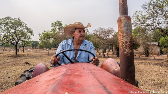 Natalino Dias Carvalho, morador do Sítio São José, na Comunidade Novo Oriente