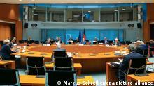 جلسة للحكومة الألمانية بتاريخ 21.10.2020 في برلين برئاسة المستشارة ميركل