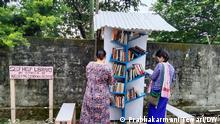 Bücherboxen in Indien
