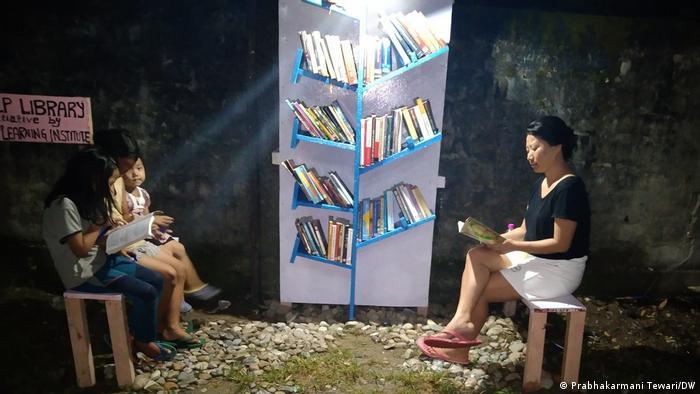 Bücherboxen in Indien
