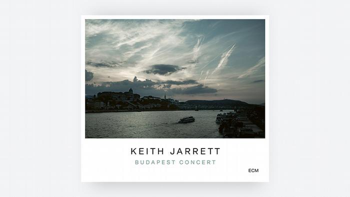 CD-Cover Budapest Concert von Keith Jarrett zeigt das Stadtpanorama von Budapest (ECM)