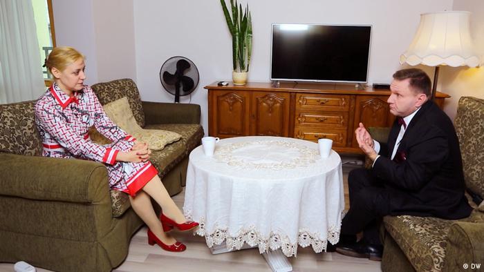 Ольга Карач беседует с Константином Эггертом