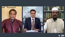 Bangladesch Talkshow Gäste in der In der Talkshow Khaled Muhiuddin fragt Arif Jebtik und Mufti Faizullah