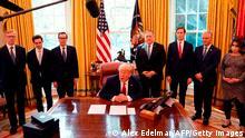 USA | Sudan-Israel-Beziehung | US-Präsident Donald Trump