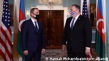Konflikt in Berg-Karabach | US-Außenminister Pompeo empfängt Amtskollegen aus dem Kaukasus