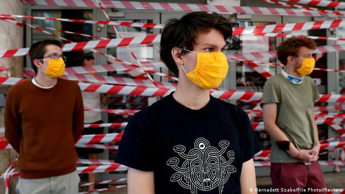 Ungarn Studenten blockieren die Universität für Theater- und Filmkunst in Budapest