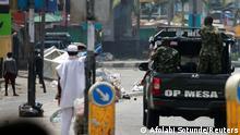 Nigeria l Proteste gegen Polizeigewalt in Lagos
