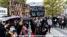 Polen Proteste in Breslau
