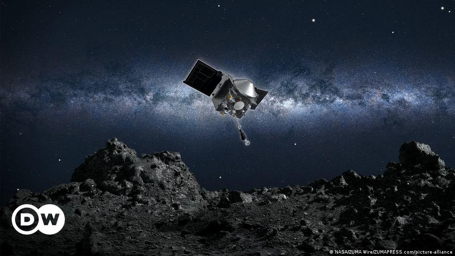 NASA probe leaks asteroid samples into space