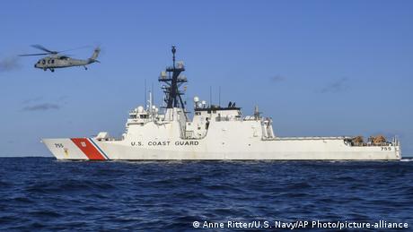 Buque de la Guardia Costera de Estados Unidos