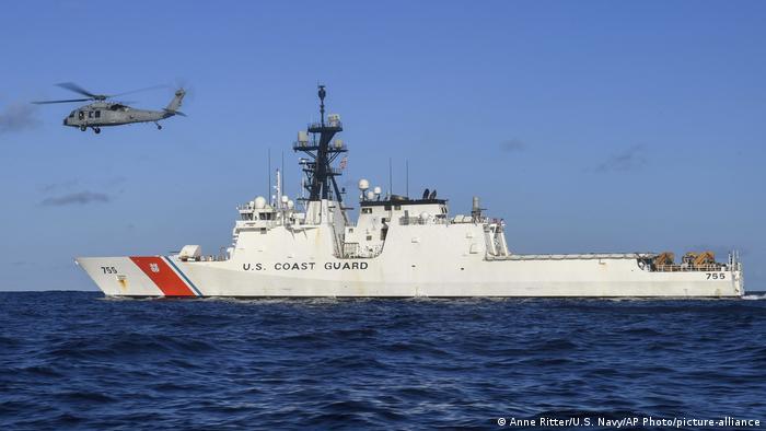 The US Coast Guard ship Munro