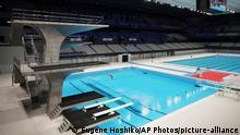 Tokio | Eröffnung olympische Schwimmhalle