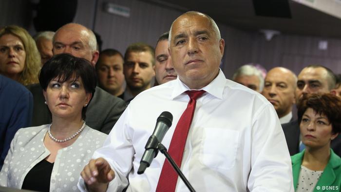 Bojko Borissow - Ministerpräsident von Bulgarien und Tsveta Karajantschewa, Parlamentspräsidentin