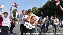 Ägypten Kairo | Unterstützer von Präsident Adbel Fattah al-Sisi