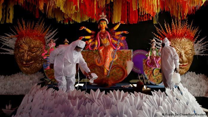 Indien Kolkata | Durga Puja während Coronakrise