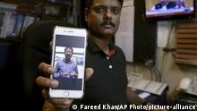 Pakistan TV-Reporter Ali Imaran Syed wird vermisst