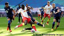 Fußball Bundesliga   RB Leipzig v Hertha BSC   Tor (0:1)