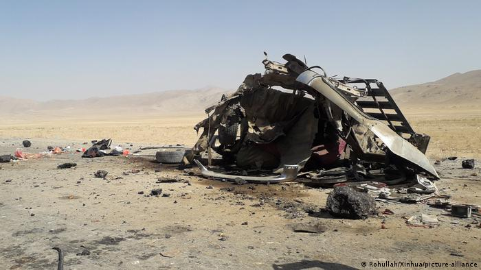 Car bomb exploded in east Afghanistan