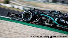 Formel 1 Großer Preis von Portugal 2020 | Luis Hamilton (Hasan Bratic/dpa/picture-alliance)