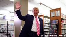 US-Präsidentenwahl | Stimmabgabe von Donald Trump