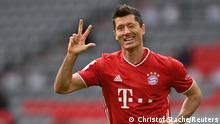 Bundesliga FC Bayern München gegen Eintracht Frankfurt | Tor Lewandowski (Christof Stache/Reuters)