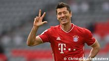 Bundesliga FC Bayern München gegen Eintracht Frankfurt | Tor Lewandowski